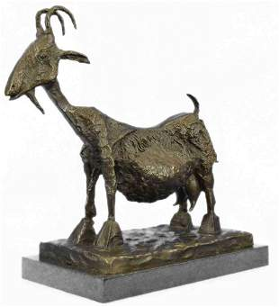 "Pablo Picasso, (After) ""She Goat"" Bronze Sculpture"