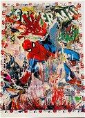 Mr. Brainwash, Spider - Man, 2019, Original 1/1 Mixed