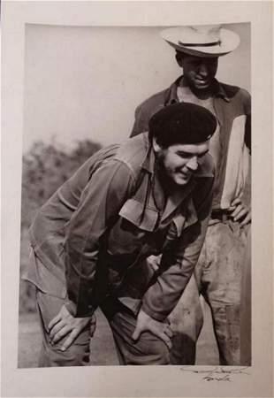 Alberto Korda, Che Guevara 1960, Signed Silver gelatin