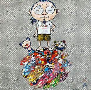Takashi Murakami, Me and the Mr.DOBs, Signed & numbered