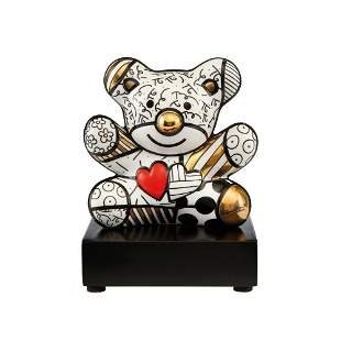 """Romero Britto, """"TRULY YOUR"""" L/E Porcelain Sculpture"""