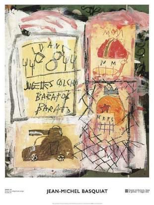 Jean-Michel Basquiat-Untitled-2002 offset lithograph