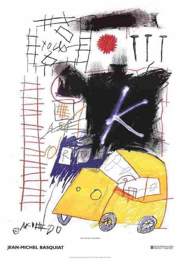 Jean-Michel Basquiat-Untitled-2002 original lithograph