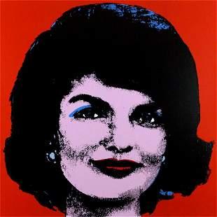 Andy Warhol, Jackie, 1963. Screen print, Framed