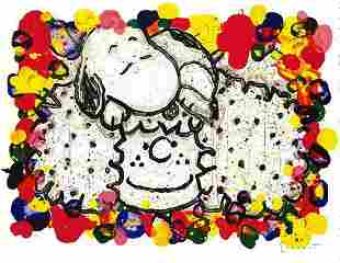 """Tom Everhart Signed/# Lithograph """"WHY I LIKE BIG HAIR"""""""
