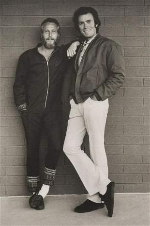 TERRY O'NEILL - Paul Newman & Clint Eastwood, 1972