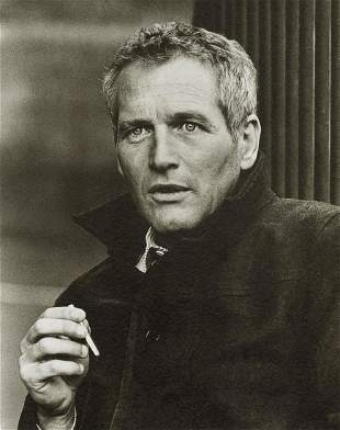 TERRY O'NEILL - Paul Newman on Set, 1973