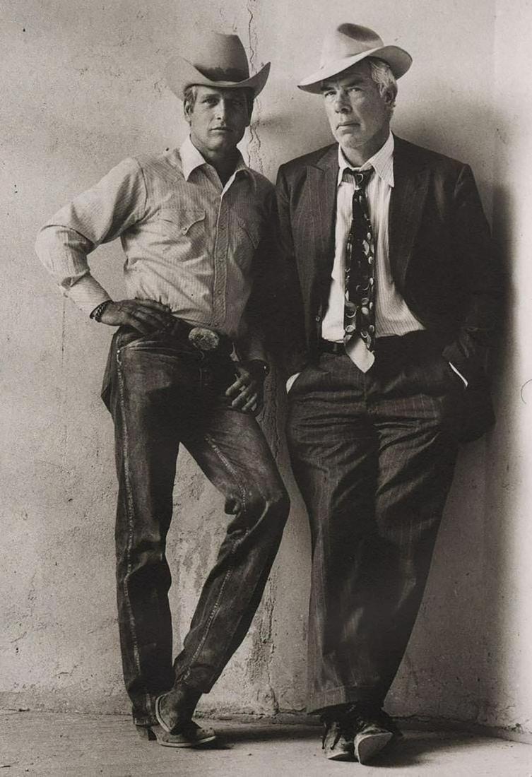 TERRY O'NEILL, Lee Marvin & Paul Newman Pocket Money 72