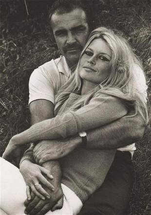 TERRY O'NEILL - Sean Connery & Bridget Bardot,1968