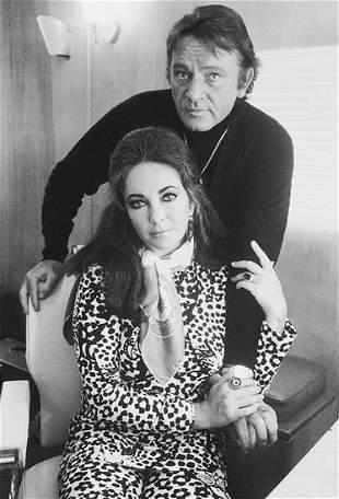 Terry O'Neill Elizabeth Taylor and Richard Burton, 1971
