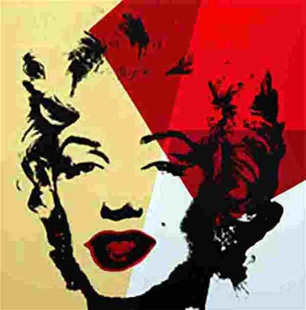 Andy Warhol Golden Marilyn 11.42 Sunday B Morning