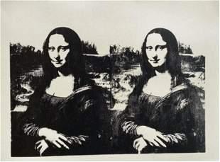 Andy Warhol Da Vinci Mona Lisa Sunday B Morning Double