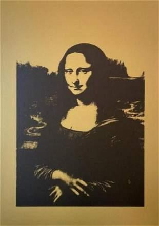 Andy Warhol Da Vinci Mona Lisa Sunday B Morning B & G