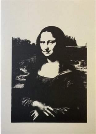 Andy Warhol Da Vinci Mona Lisa Sunday B Morning Vellum