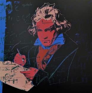 Andy Warhol Beethoven 392 Sunday B Morning LE Serigraph