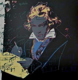 Andy Warhol Beethoven 393 Sunday B Morning LE Serigraph