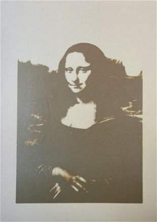 Andy Warhol Da Vinci Mona Lisa Sunday B Morning