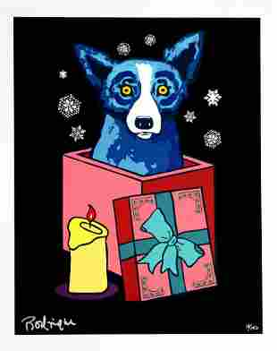 George Rodrigue, Midnight Suprise, Serigraph, Signed/No