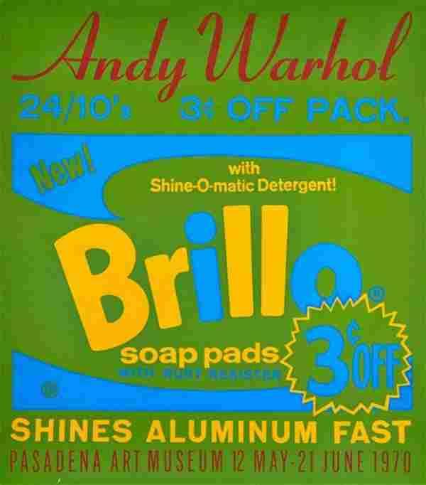 Andy Warhol, Brillo Soap Pads, Screenprint 1970