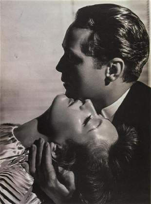 GEORGE HURRELL - Joan Crawford and Franchot Tone, 1936
