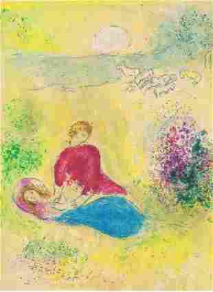 Marc Chagall, Daphnis and Chloe - The Little Swallow,