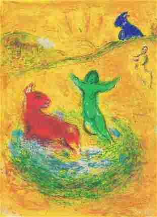 Marc Chagall, Daphnis and Chloe - The Wolf Trap,