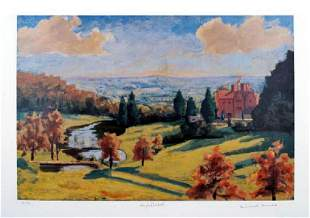 WINSTON CHURCHILL VIEW FROM CHARTWELL LIMITED EDITION