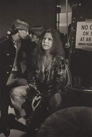 Terry O'Neill - Janis Joplin backstage