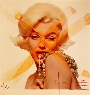 Bert Stern Marilyn Monroe Crucifix IV AP 1 of 6 with