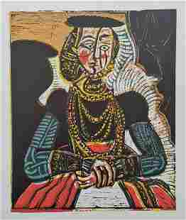 """Pablo Picasso (After), """"Buste de Femme d'Apres"""""""