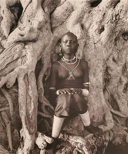 HERB RITTS, Africa - 41, 1993, Photo Engraving