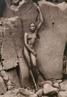 HERB RITTS, Africa - 42, 1993, Photo Engraving