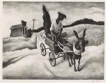Thomas Hart Benton, Lonesome Road, 1938