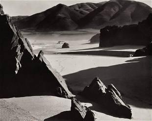 BRETT WESTON, 1954 Garapata Beach Rock Mountain