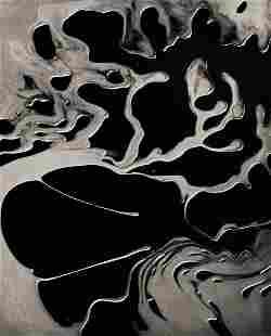 BRETT WESTON, 1955 Cracked Glass Abstract