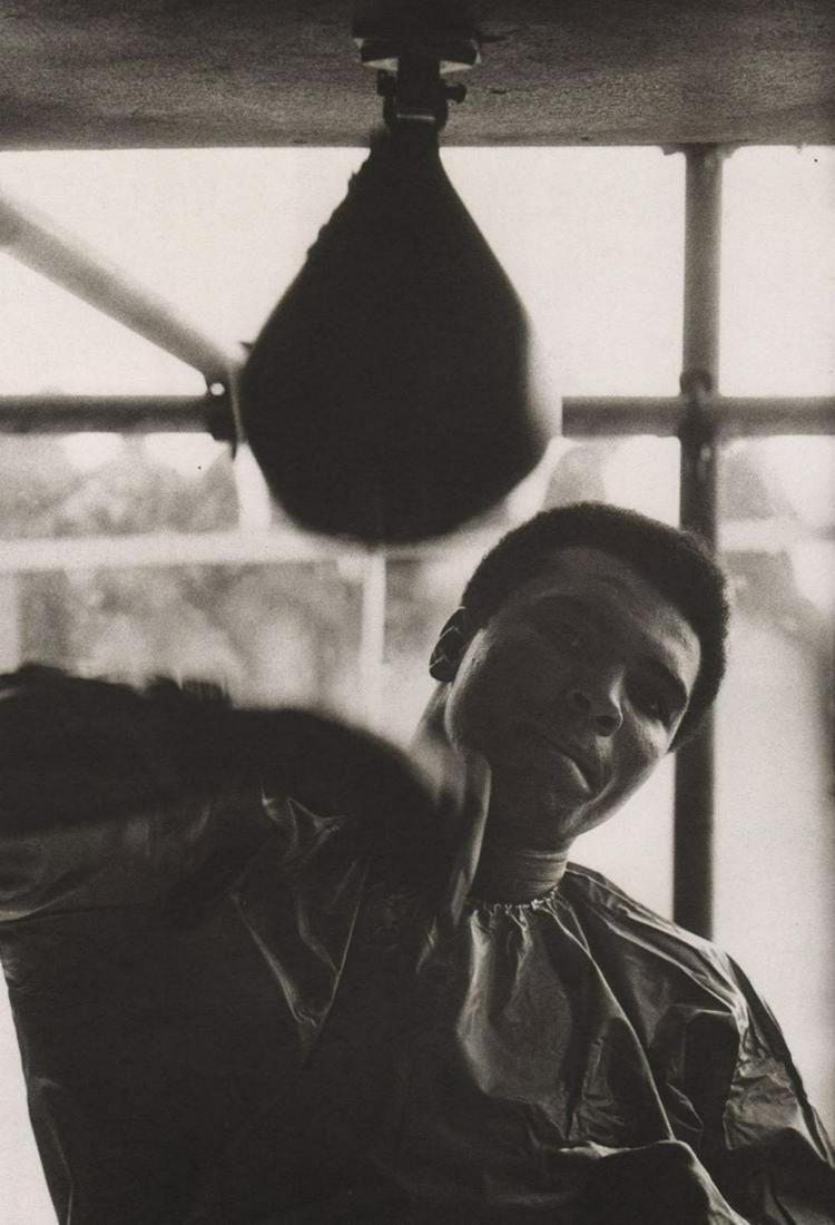Terry O'Neill - Muhammad Ali training, Dublin, 1972