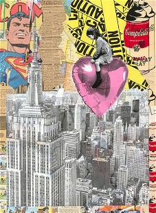 """Mr. Brainwash """"Big City Big Dreams - 2020"""" Original 1/1"""