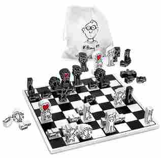 KEITH HARING Limited Edition Chess Set