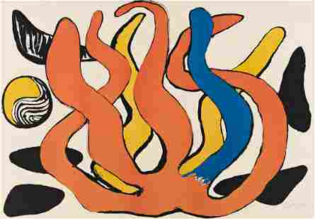 ALEXANDER CALDER, Red, Yellow and Blue Coral with