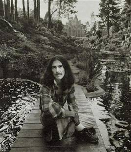 Terry O'Neill - George Harrison in Seclusion, 1975