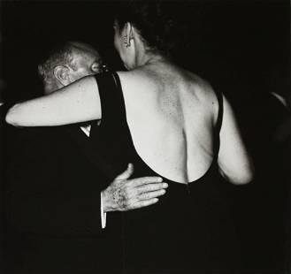 Diane Arbus, Man Dancing with a Large Woman, N.Y.C.,