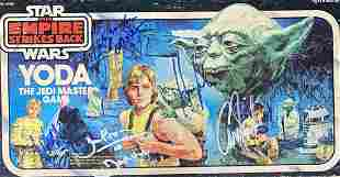 Star Wars Autographed Board Game