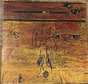 Alice Cooper Autographed Album