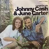 JOHNNY CASH AUTOGRAPHED ALBUM