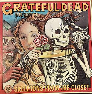 Grateful Dead Autographed Album All Members!!! JERRY