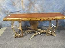 ANTLER SOFA TABLE