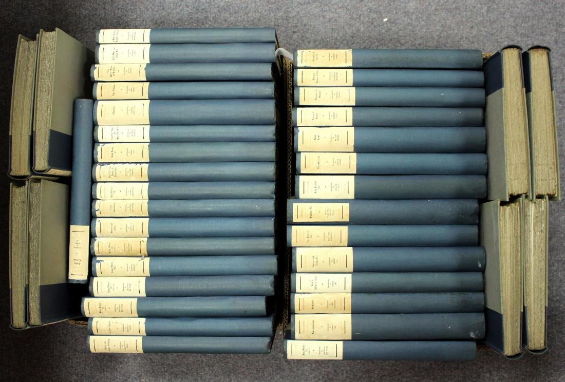 Shakespeare, William. Complete Works of 40 volumes, No