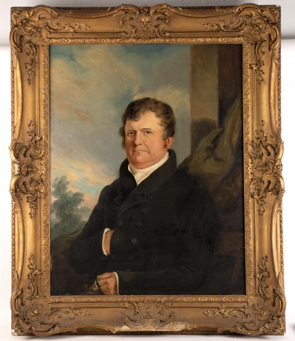 19th Century English School/Portrait of a