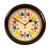 An RAF Sector clock, WWII period, F.W. Elliot Ltd.,