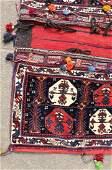 A pair of South Persian Afshar saddle bags, circa 1920,